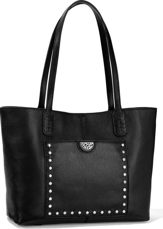 Reed  Soft Tote In black