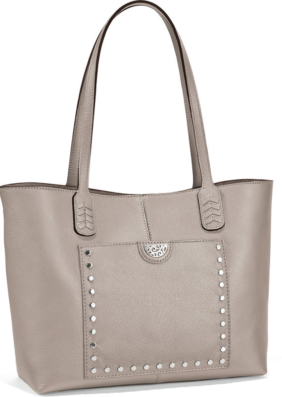 Reed Soft Tote in Zinc