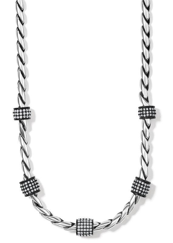 Meridian Black Necklace