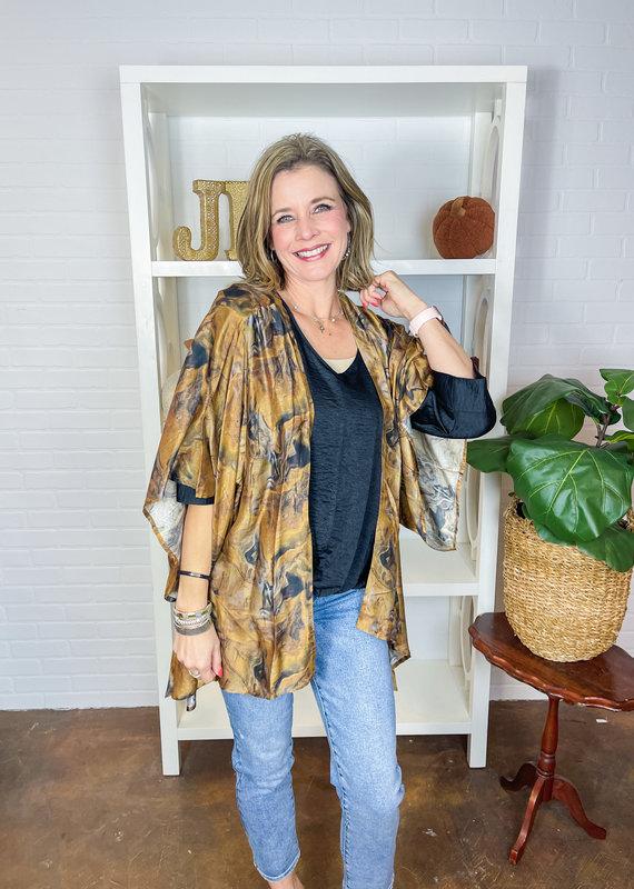 APNYAPPAREL Autumn Breeze Kimono