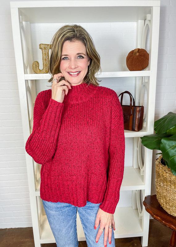 LIV Snow Bunny Funnel Neck Sweater