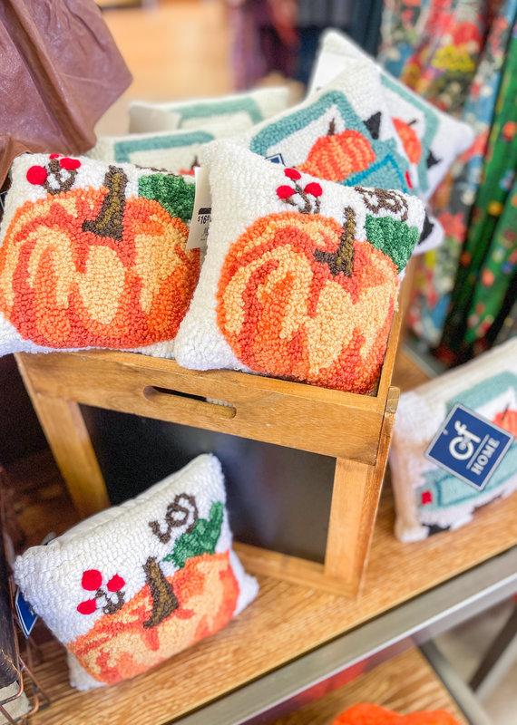 C&F Enterprises Fall Mini Hooked Pillow