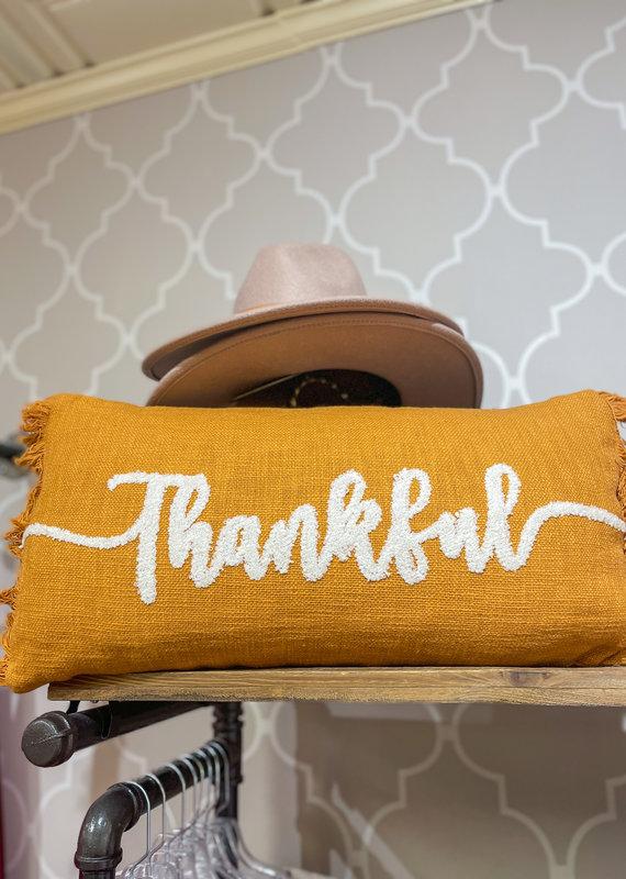 SHIRALEAH Thankful Pillow