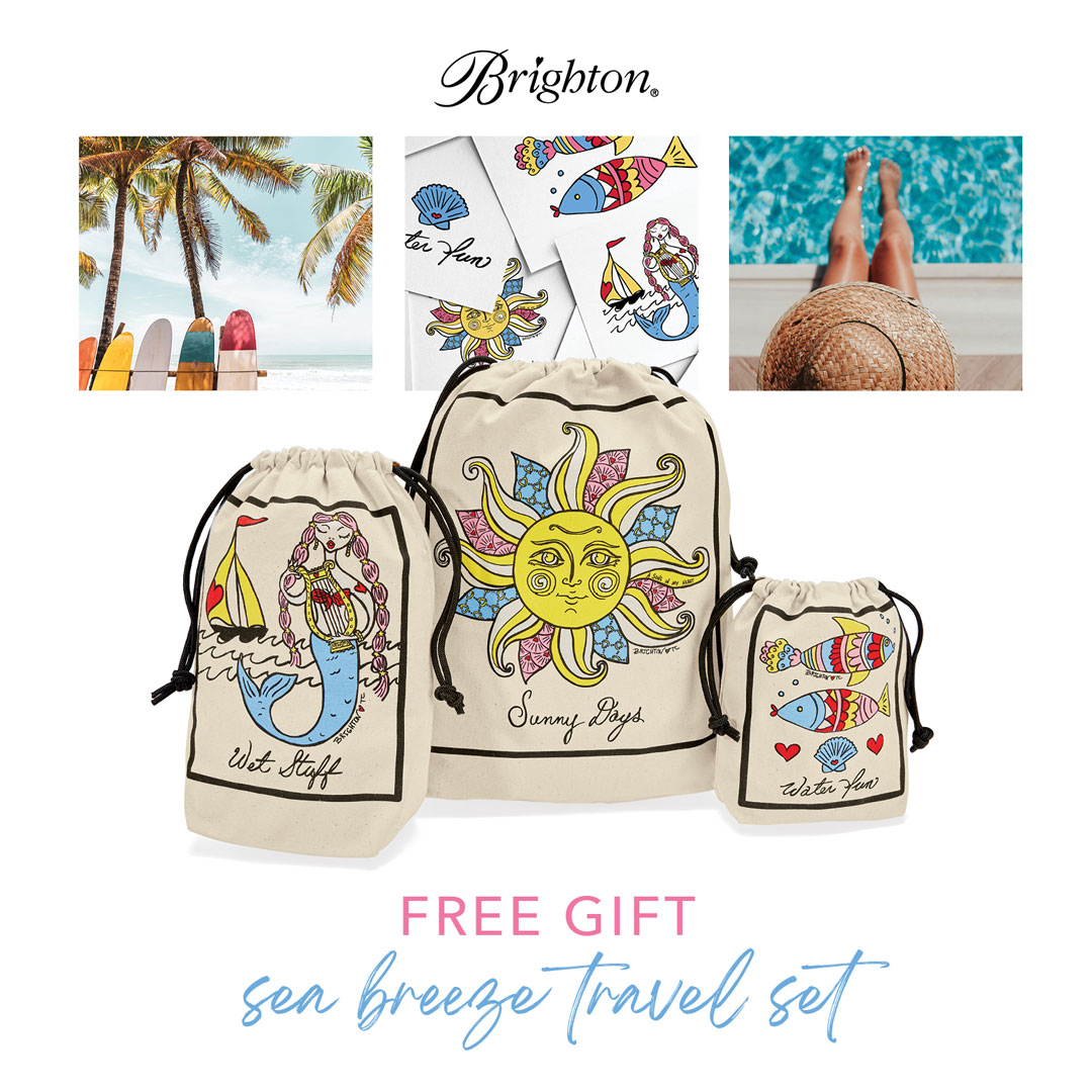 BRIGHTON FREE GIFT WITH PURCHASE!