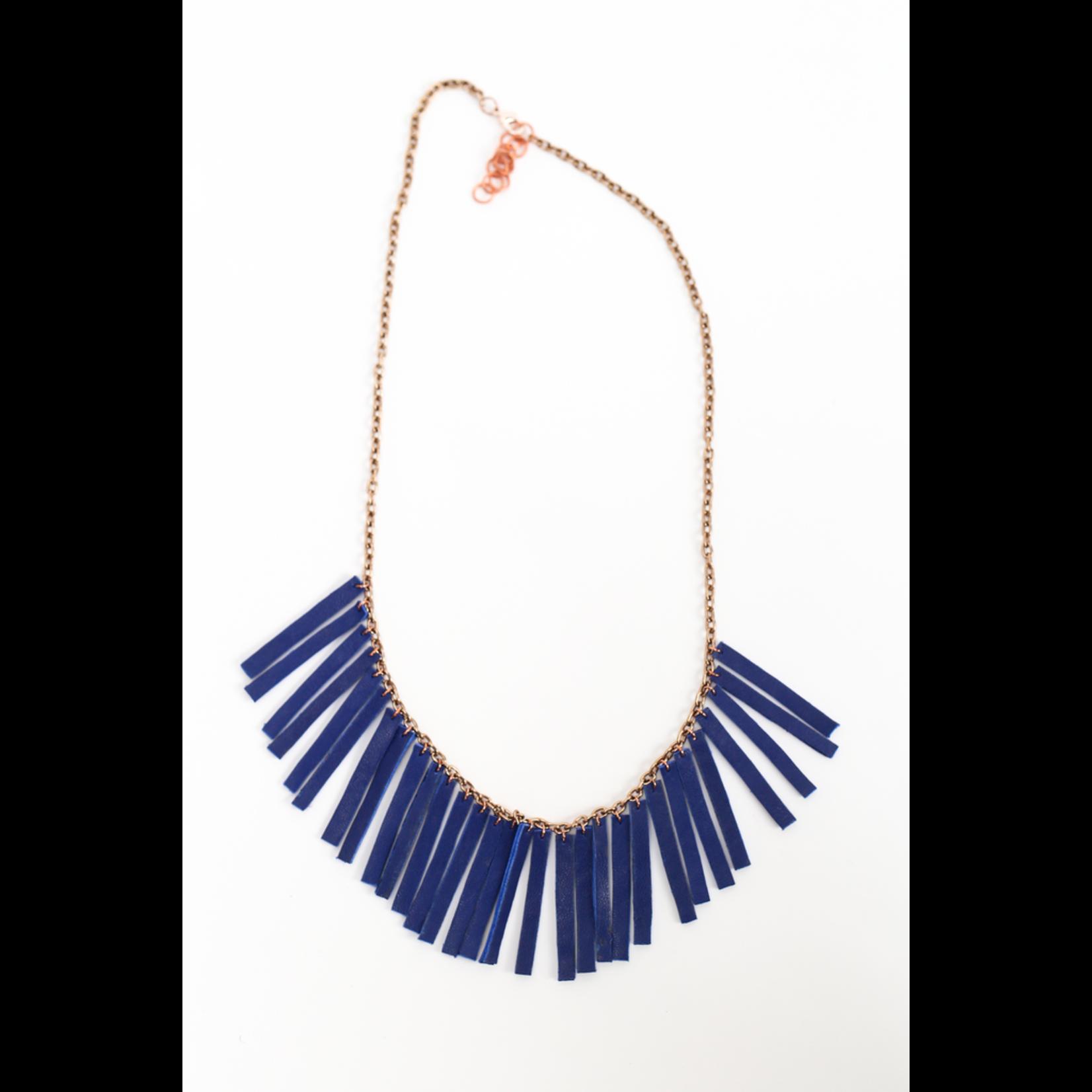 Flocktails Flocktails Donna Necklace - Royal Blue