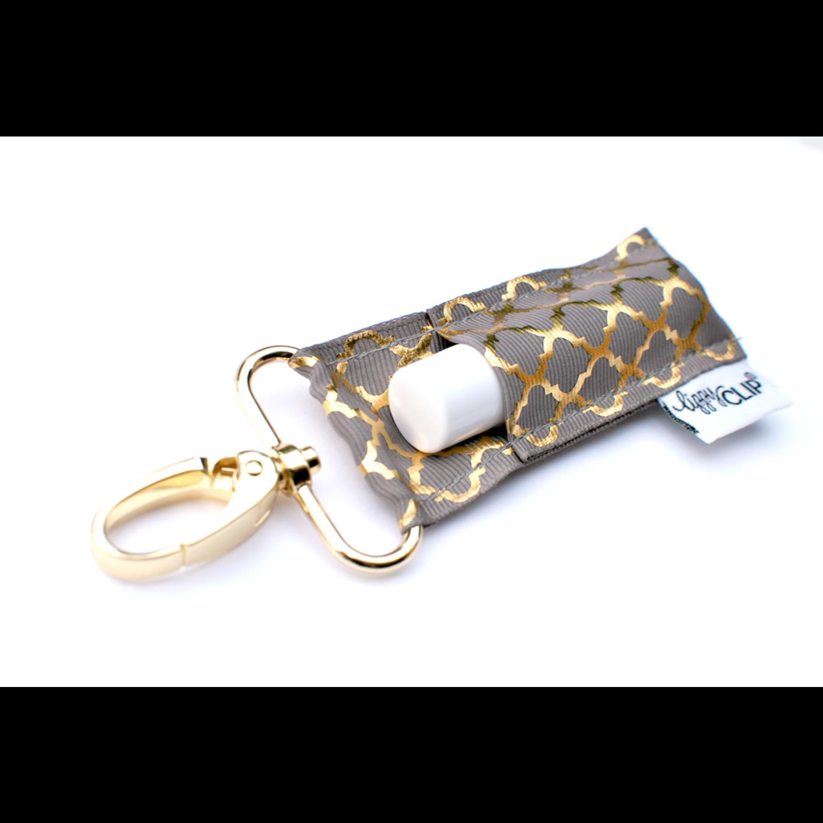 LippyClip CG Quatrefoil lip balm holder