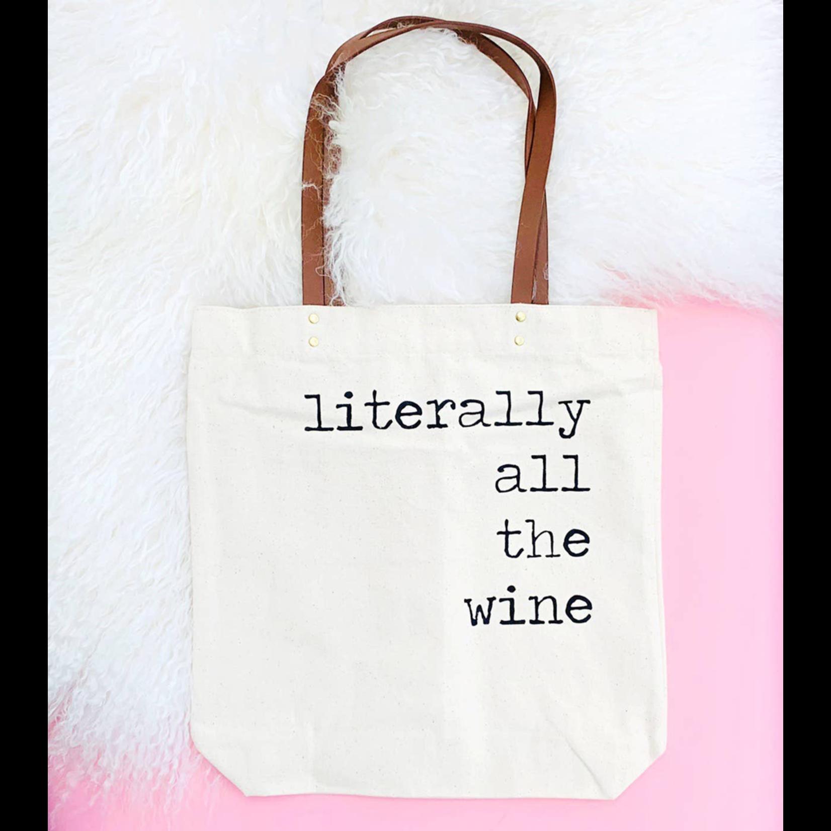 Fun Club All the Wine Tote