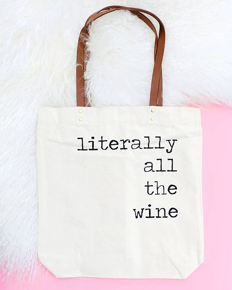 Fun Club All the Wine Tote