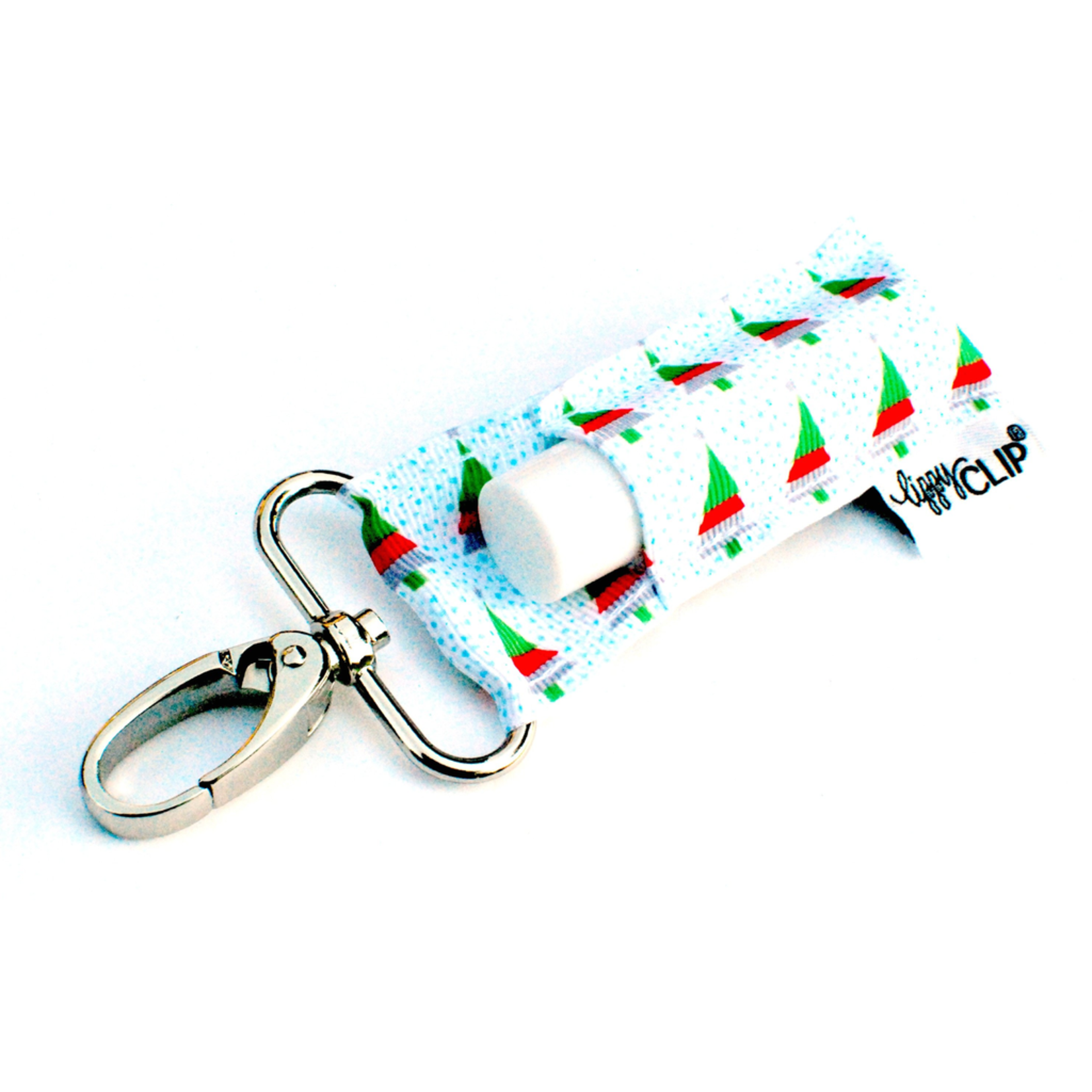 LippyClip Christmas Tree lip balm holder