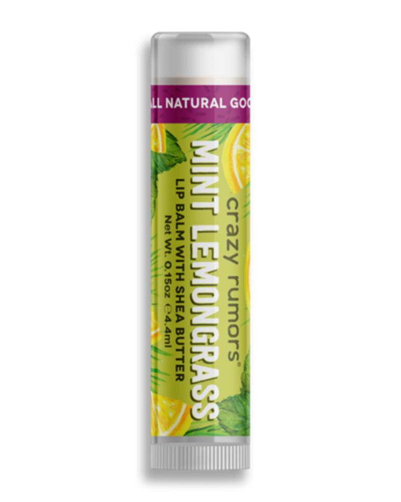 Crazy Rumors Mint Lemongrass Lip Balm