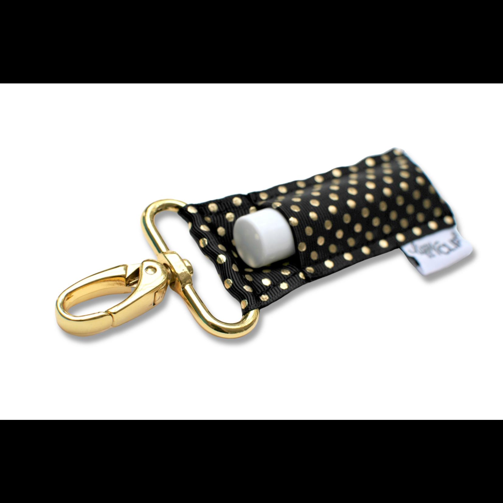 LippyClip BG Dots lip balm holder