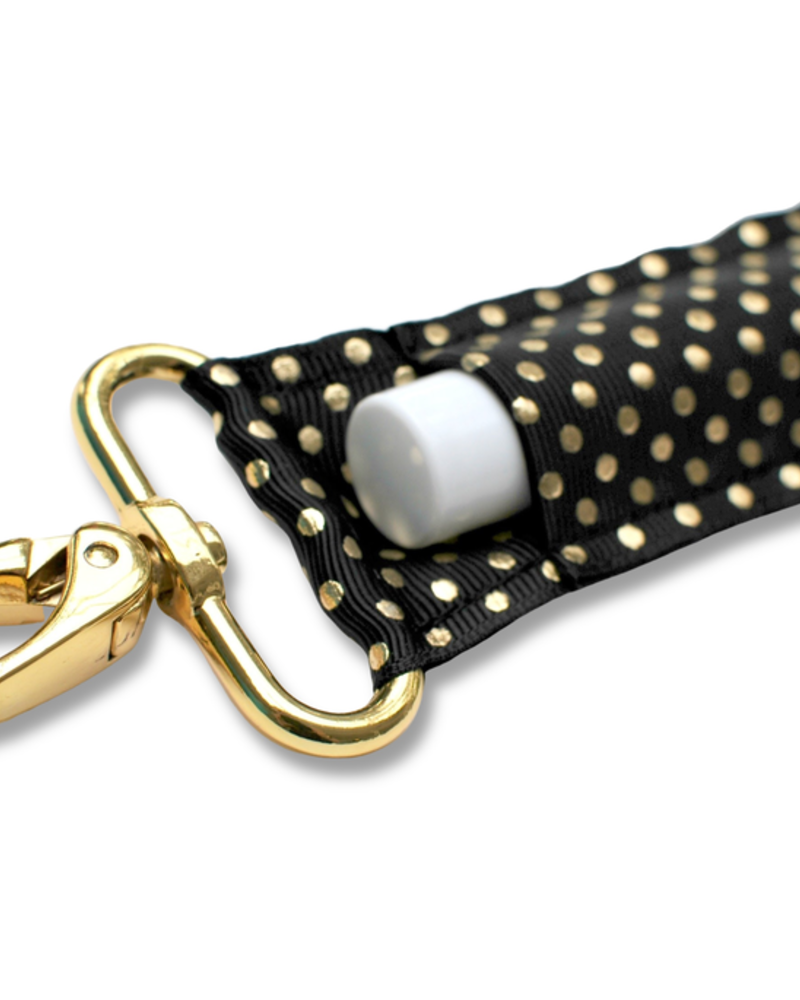 LippyClip BG Dots lip balm holder