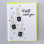DeLuce Design I'd Still Card You Birthday card