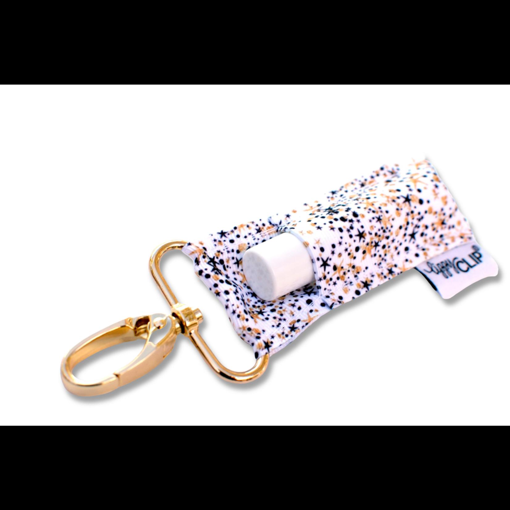 LippyClip BG Confetti lip balm holder