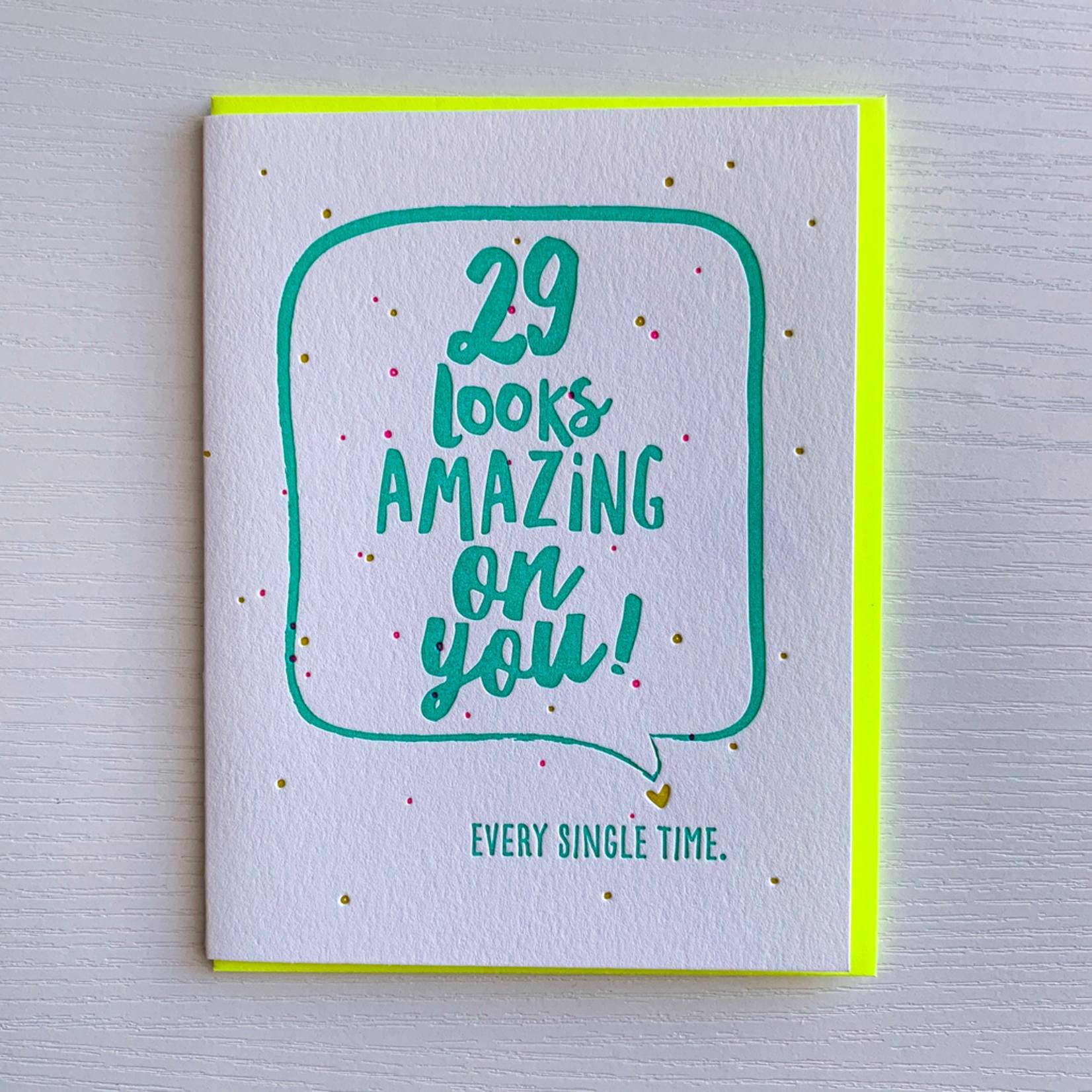 DeLuce Design 29 Birthday card