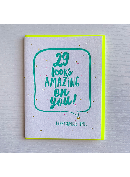 DeLuce Design 29 Birthday card
