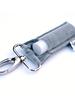 LippyClip Grey Velvet lip balm holder