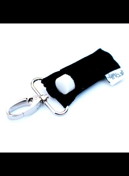 LippyClip Black Velvet lip balm holder