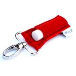 LippyClip Red Velvet lip balm holder