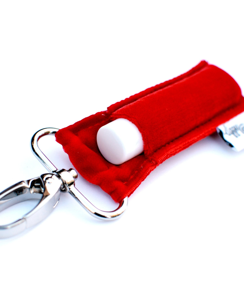LippyClip Red Velvet lip balm holder