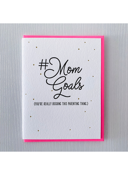 DeLuce Design MomGoals card