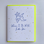 DeLuce Design New Baby card