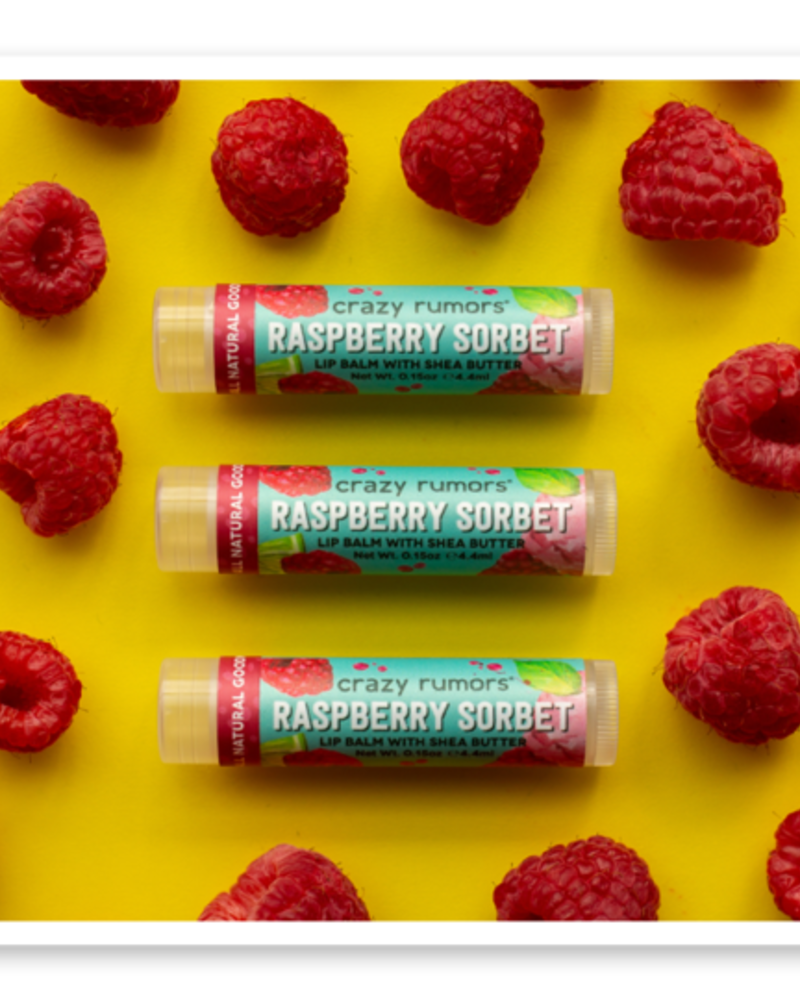 Crazy Rumors Raspberry Sorbet Lip Balm
