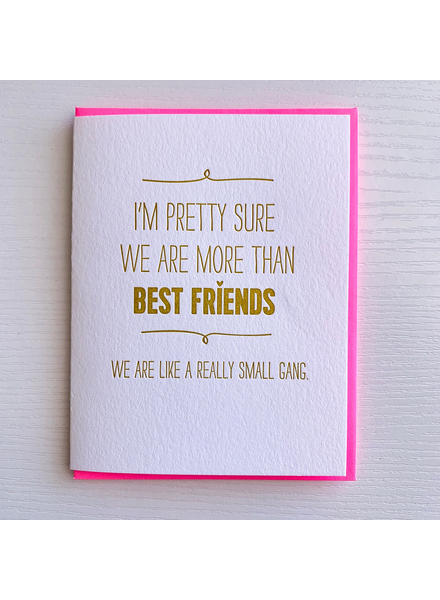 DeLuce Design Best Friends card