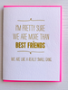 DeLuce Design Best Friends card