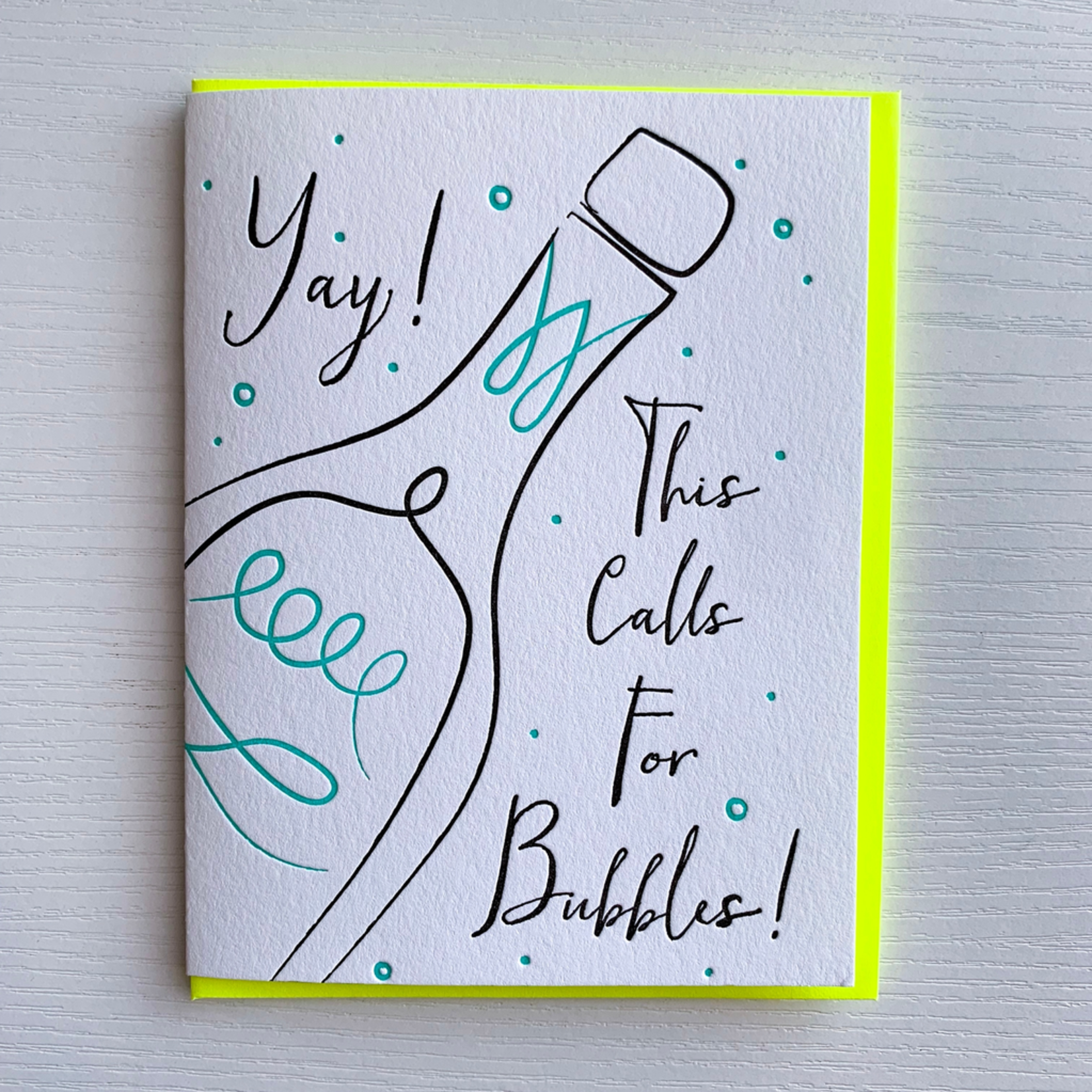 DeLuce Design Congrats card