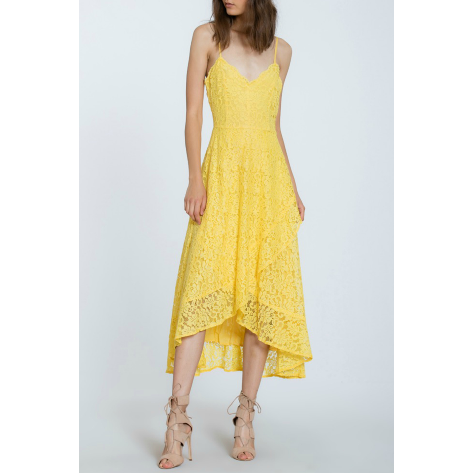 The Room Label Lace Overlay Midi dress, sale item, Was $82
