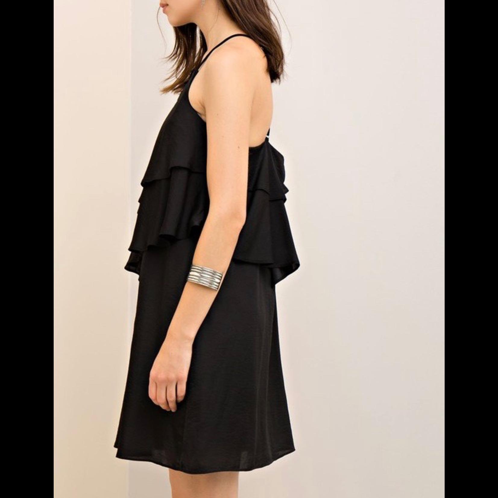 Entro Ruffle Shift Dress, sale item, Was $52