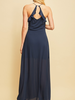 Entro Ruffle Back Maxi Dress