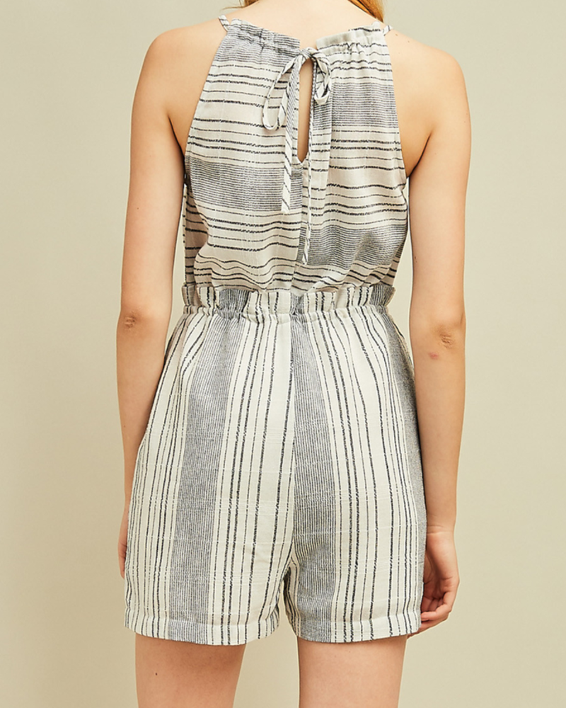 Entro High waisted Romper