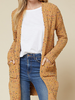 Entro Speckled knit cardigan