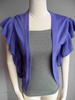Topin Topin Ruffle Sleeve Cardigan, sale item, Was $70