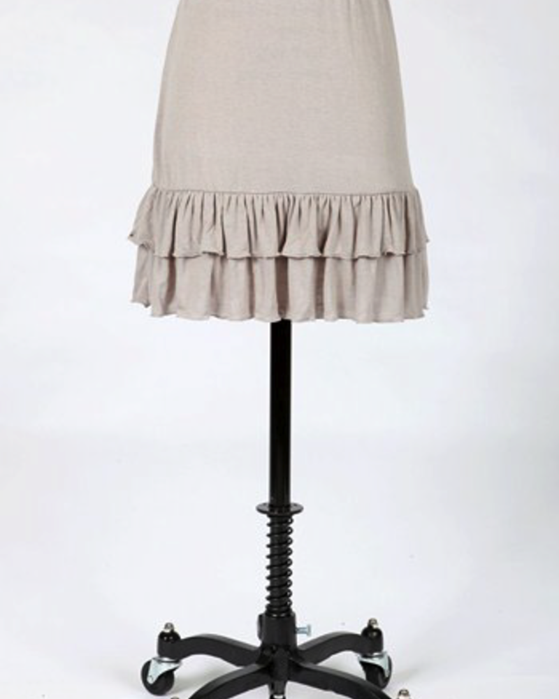 Tulle Tulle Jersey layering skirt, SALE item, Was $40