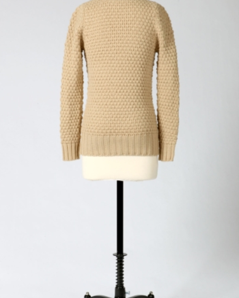 Tulle Tulle V-Neck Sweater, sale item, Was $60