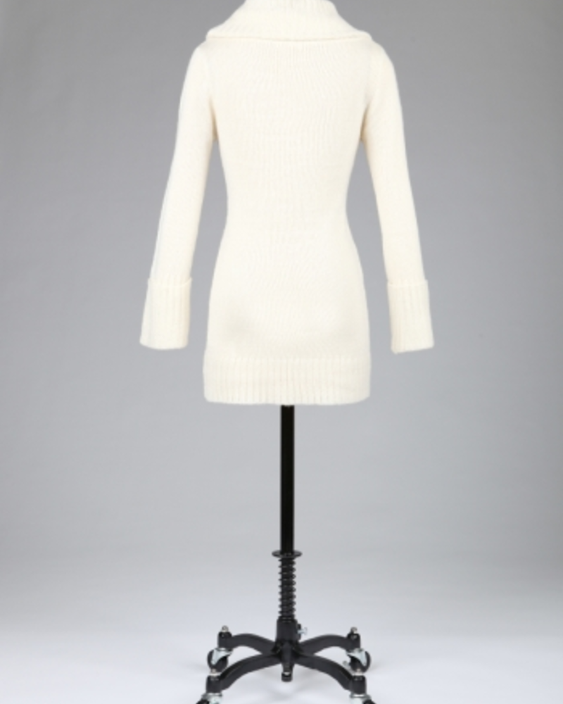 Tulle Tulle Turtleneck with Tie Details, SALE, Was $73, Final Sale