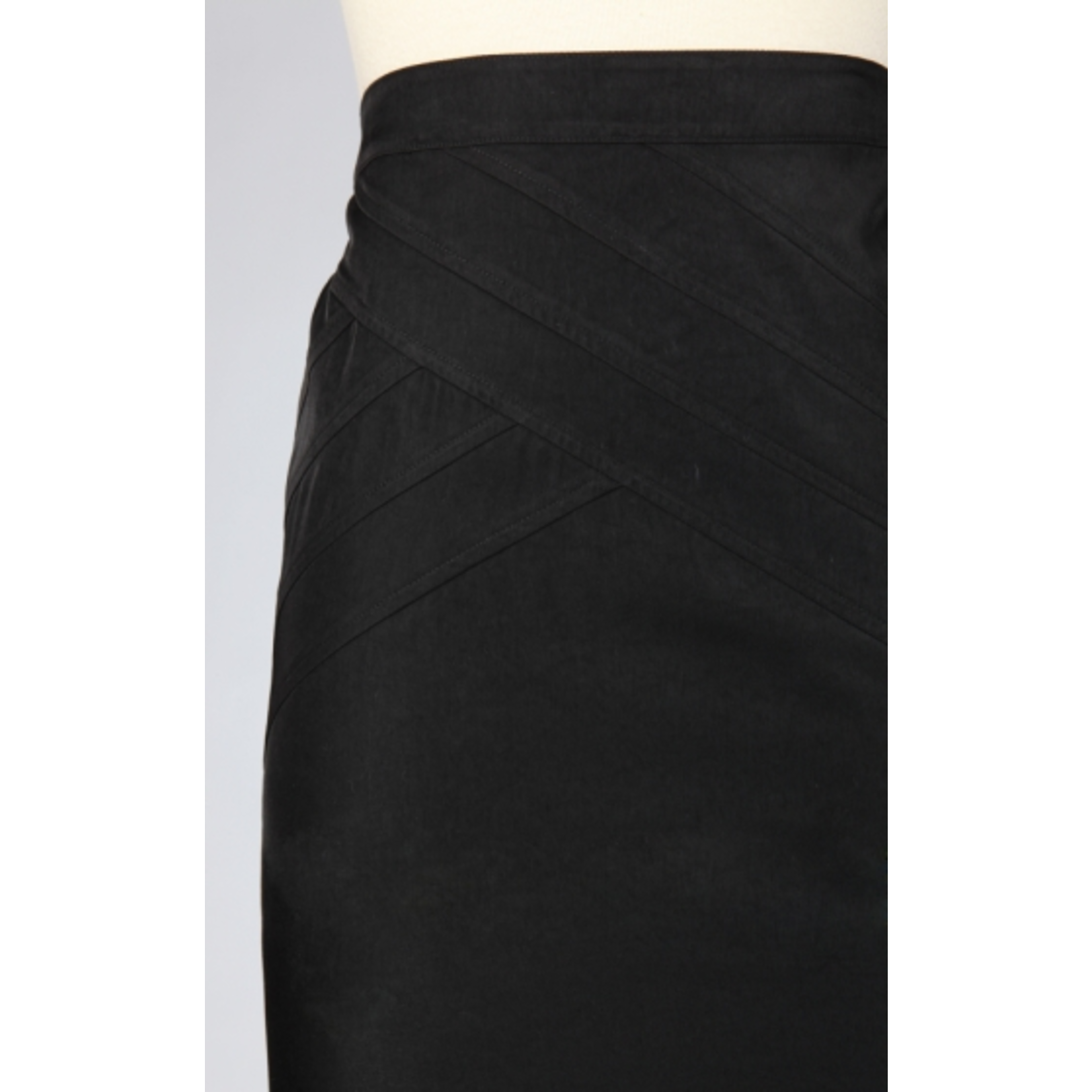Tulle Tulle Pintuck Pencil Skirt