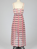 Tulle Tulle Midi Length Spaghetti Strap Dress with Cross Front, sale item, Was $73