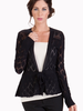 Tulle Cardigan with Scallop Detail with Attached Waisted Tie, sale item, Was $80, FINAL SALE