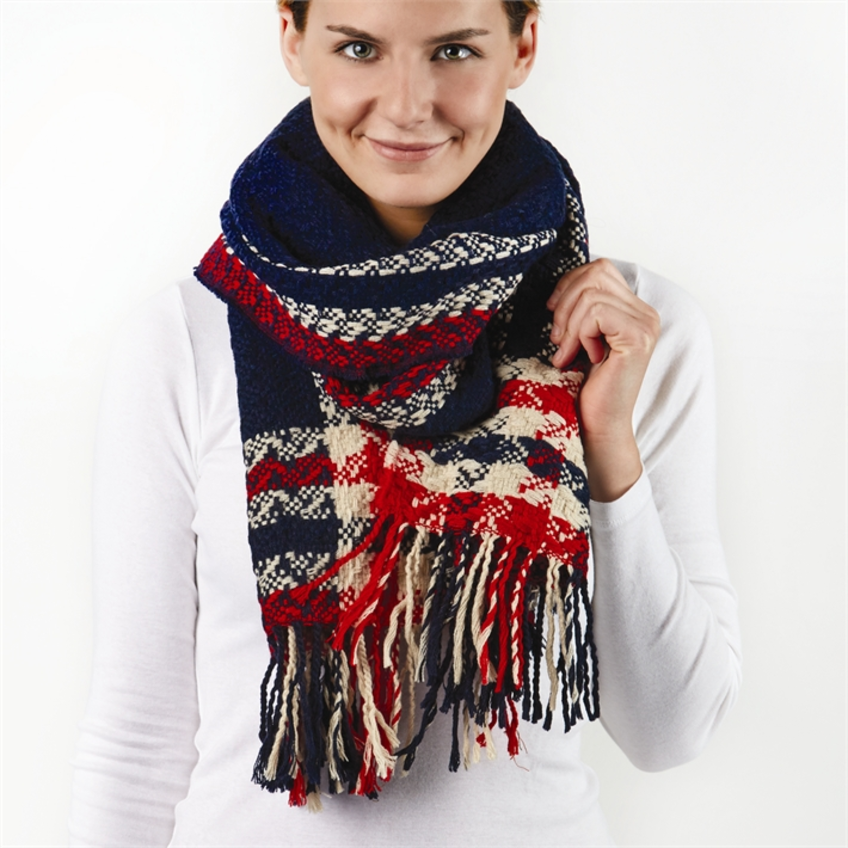 Two's Two's Walk in the Park Scarf