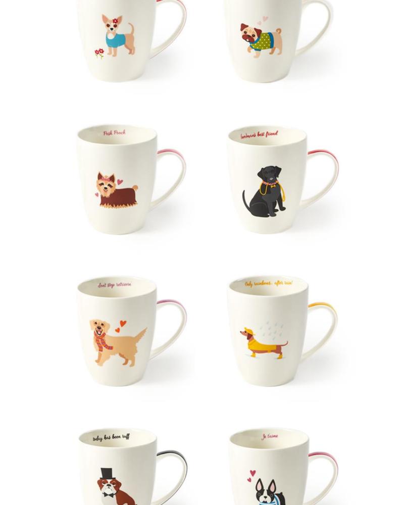 Two's Puppy love mug