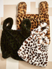 Two's Faux Fur Leopard Bag
