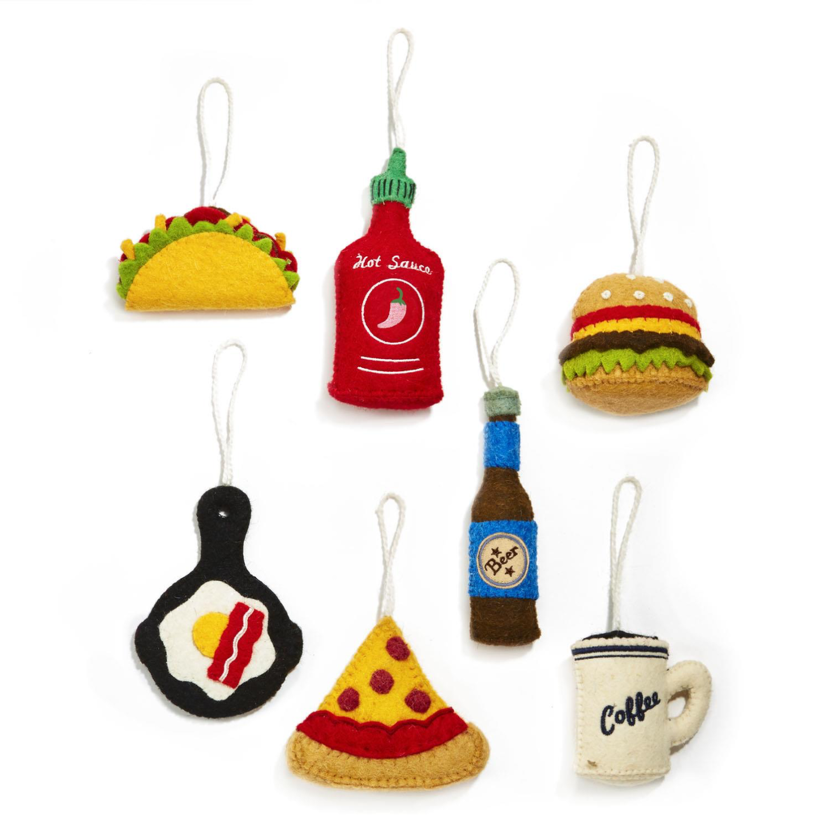 Two's Foodie/Bottle Ornament