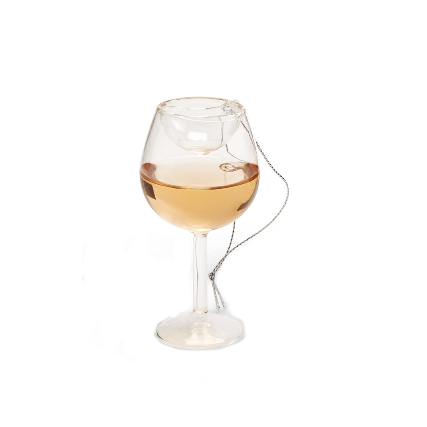Two's Mini Wine glass ornament