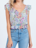 Everly Floral Crop Top