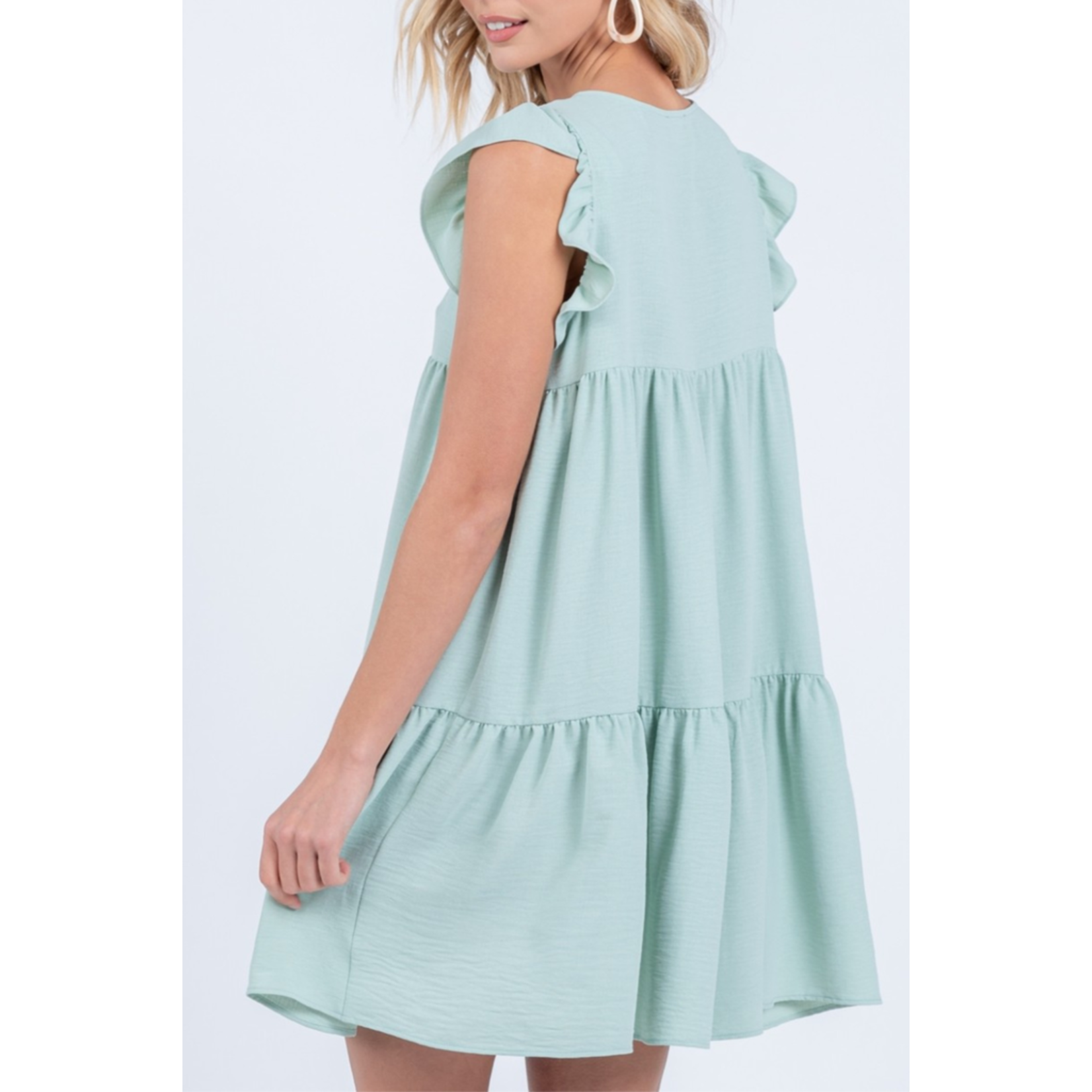 Everly Tiered babydoll dress