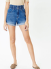 KanCan High Waisted Paperpag shorts